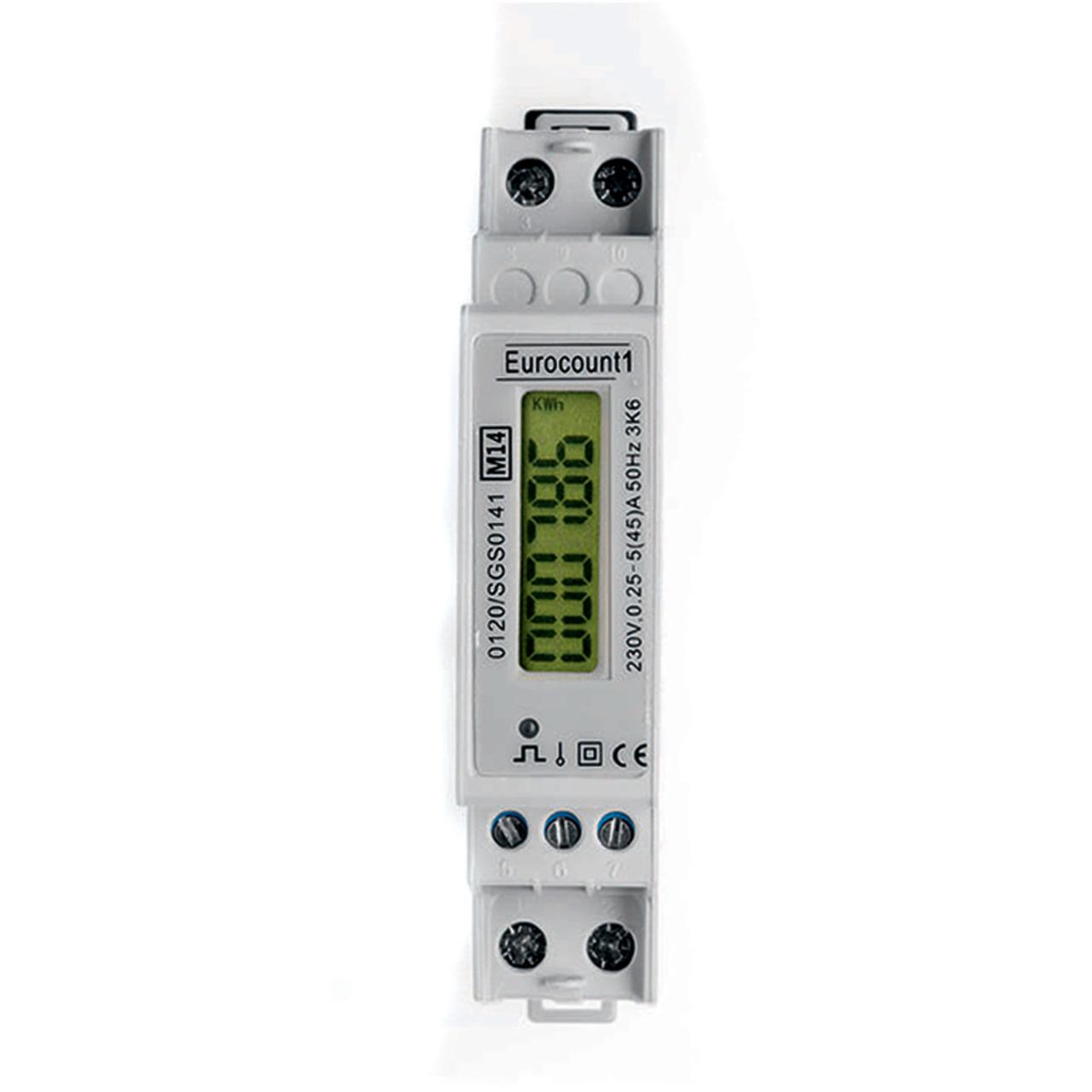 Digital-Wechselstromzähler SDM120D für Wirkverbrauch