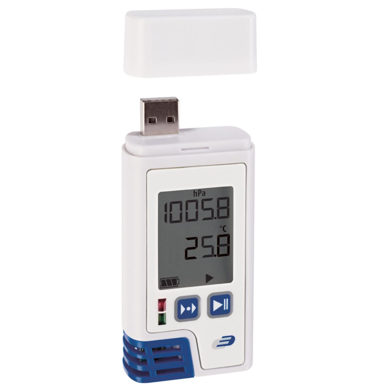 Dostmann electronic  USB-Datenlogger LOG220 für Temperatur- Feuchte und Druck