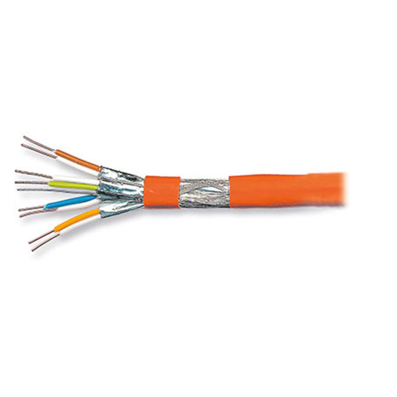 EFB-Elektronik Verlegekabel- Cat- 7 Rohkabel- Typ PIMF 4 x 2 x 0-56- 100 m