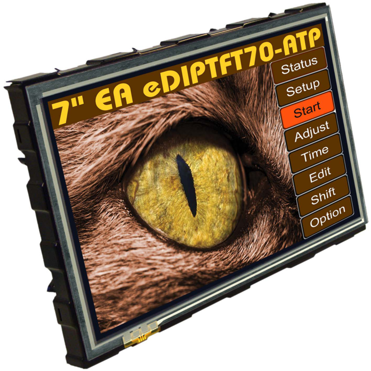 Electronic Assembly LCD-Bedieneinheit mit Touch TFT EA eDIPTFT70-ATP 17-78 cm (7-) 800x480 Pixel