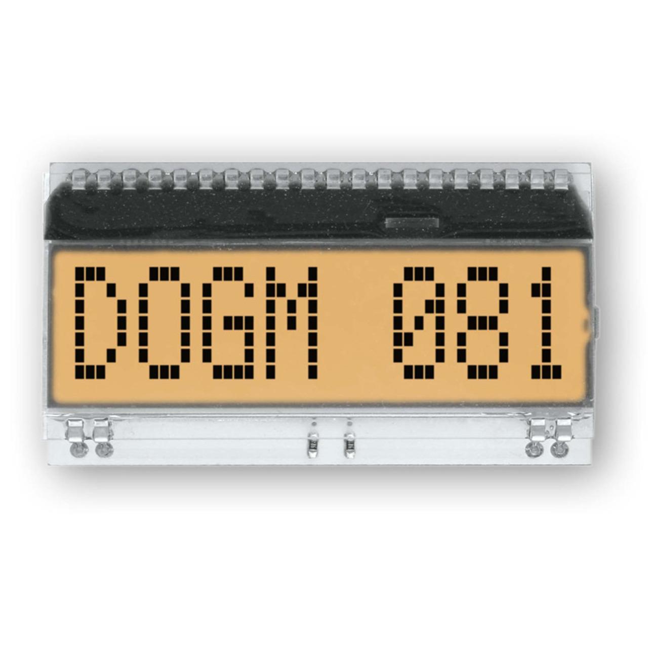 Electronic Assembly LCD-Punktmatrixdisplay EA DOGM081W-A 11-97 mm 1x8