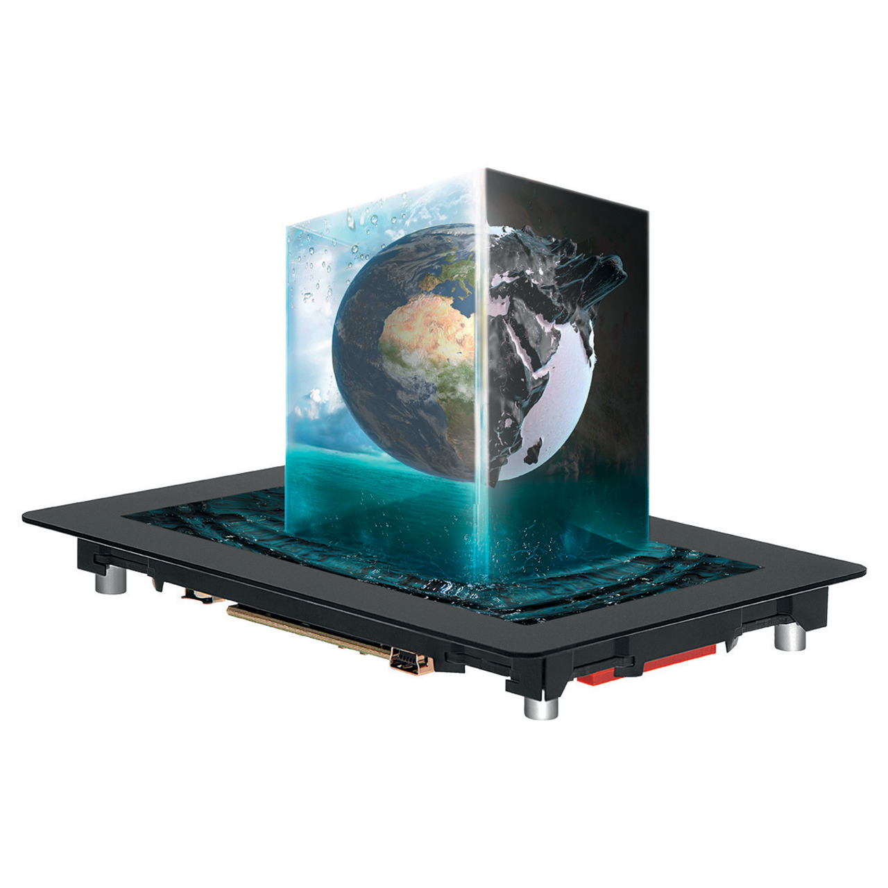 Electronic Assembly Multifunktionsdisplay 5undquot  mit PCAP