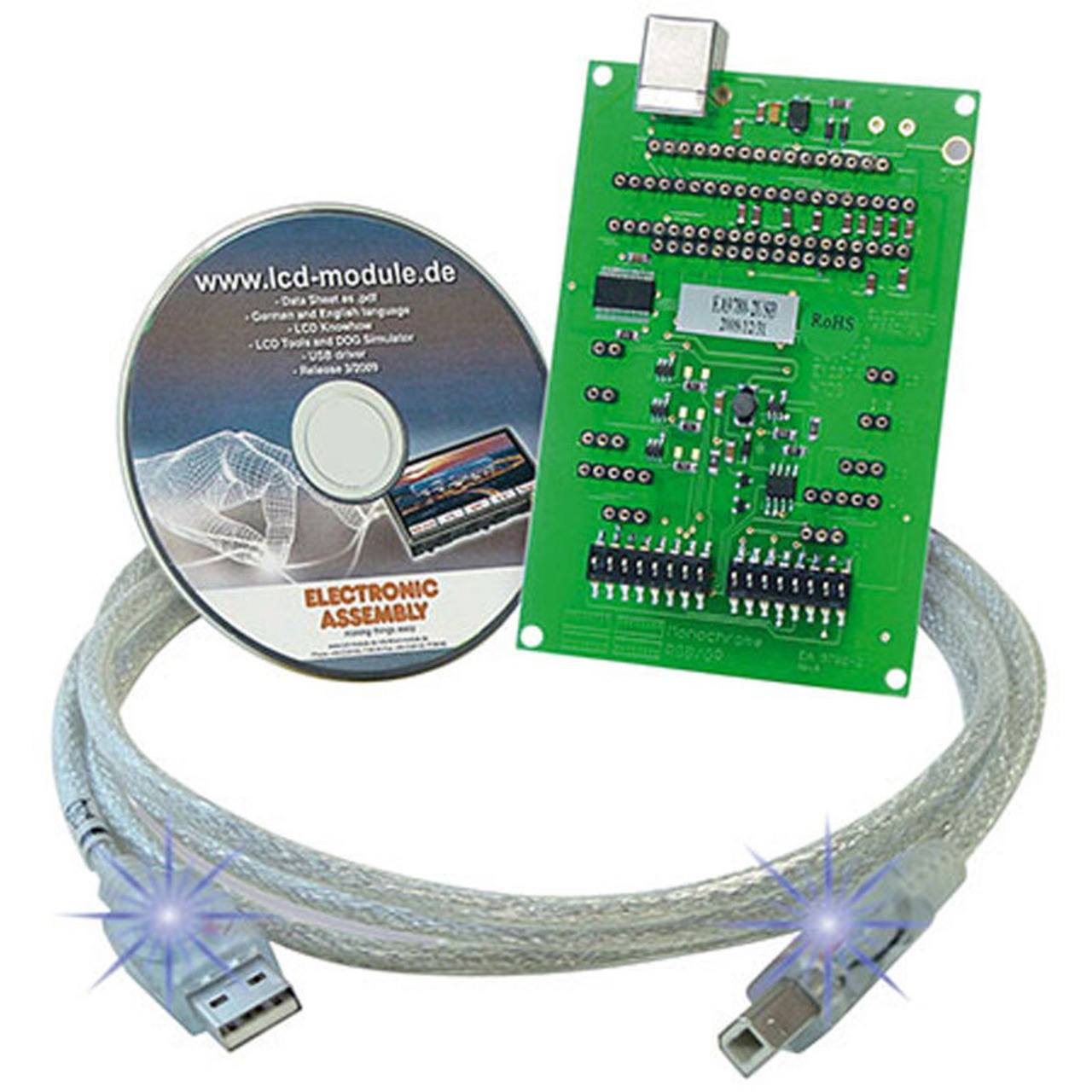 Electronic Assembly USB-Testboard EA 9780-2USB