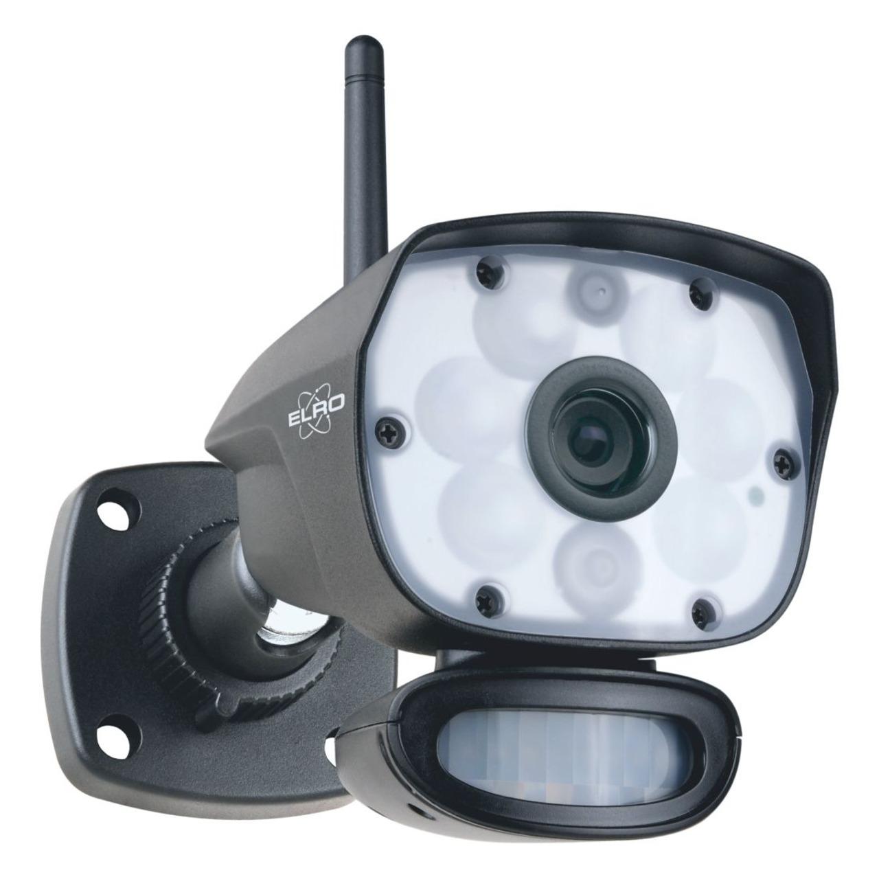 ELRO Funk-Zusatzkamera CC60RXX11- Full-HD (1080p) - geeignet fund-252 r Funk-Kamerasystem CZ60RIP11S