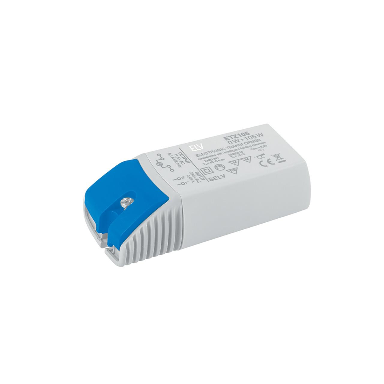 ELV 0-1-105-W-LED-Netzteil- 12 V AC- dimmbar