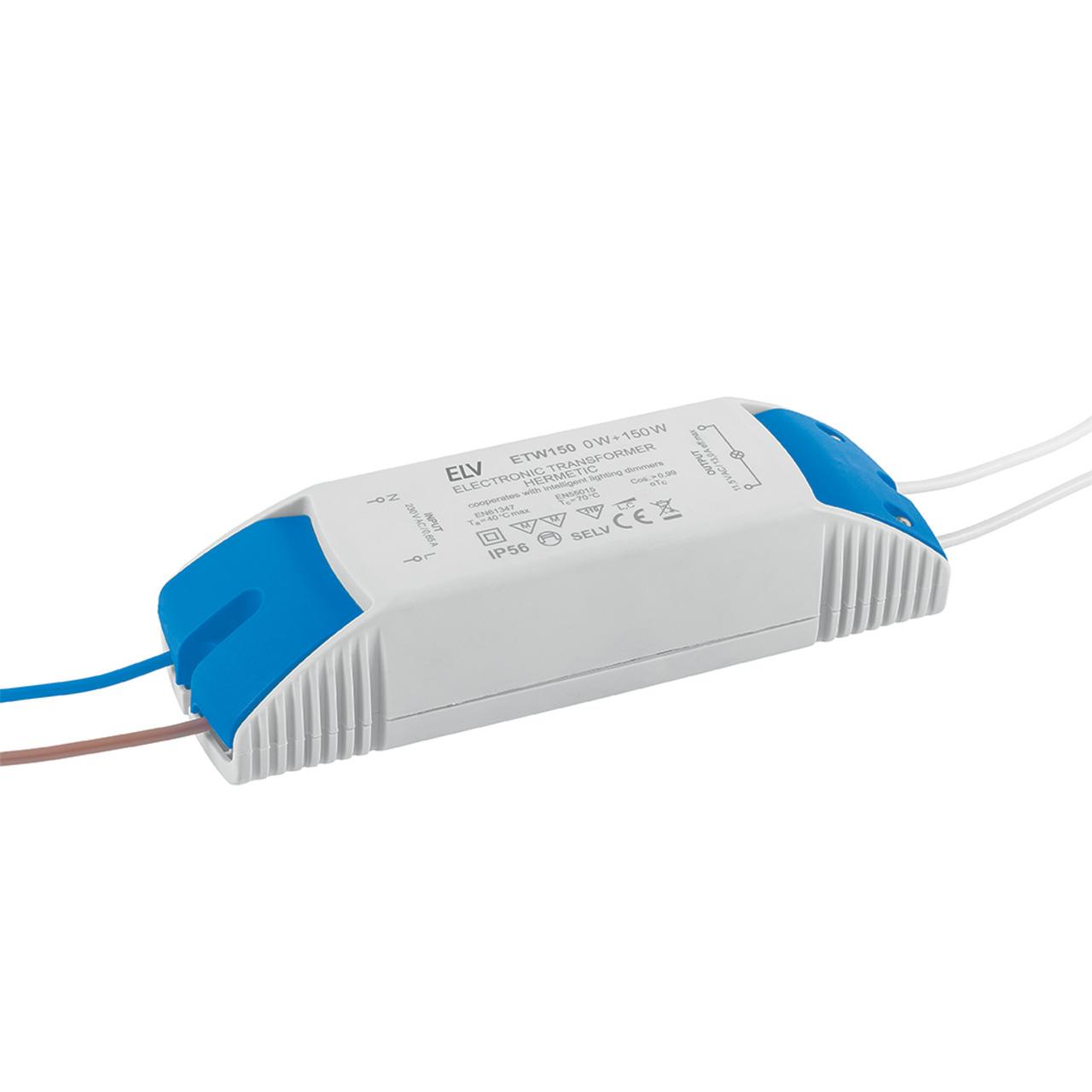 ELV 0-1-150-W-LED-Netzteil- 12 V AC- dimmbar
