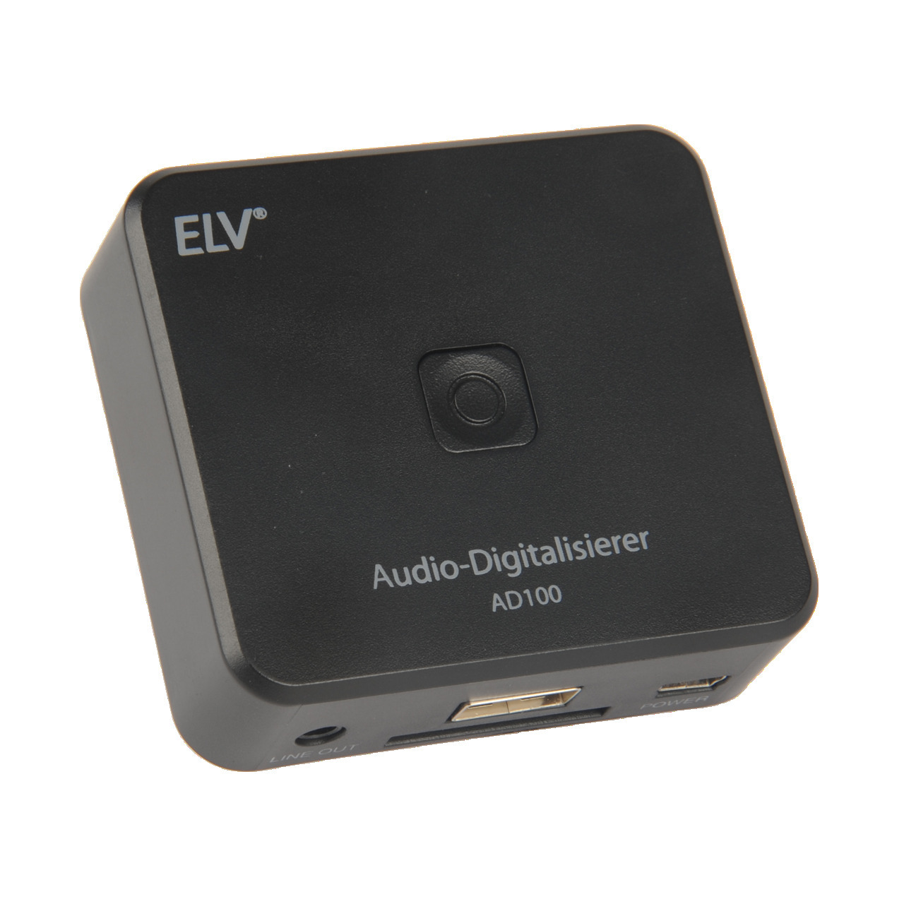 ELV Audio-Digitalisierer AD100- Stand-alone-Betrieb (ohne PC)- Playback-Funktion