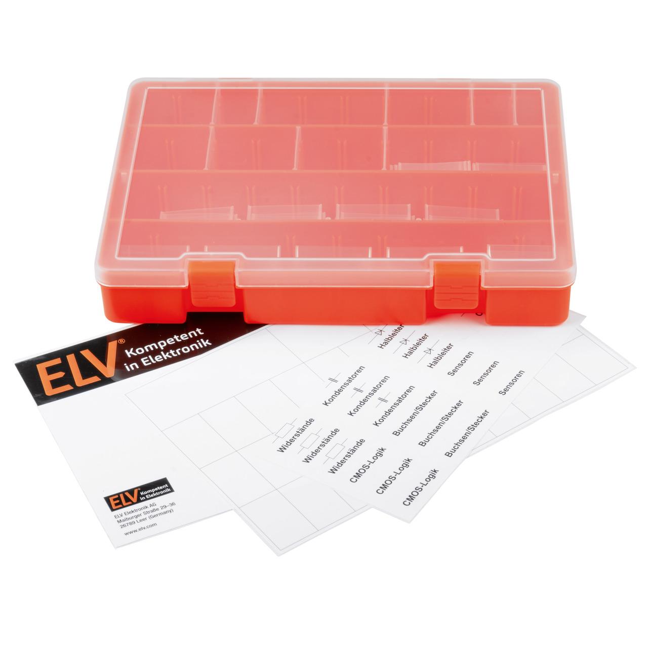 ELV Aufbewahrungsbox für Kleinteile PAD-BOX