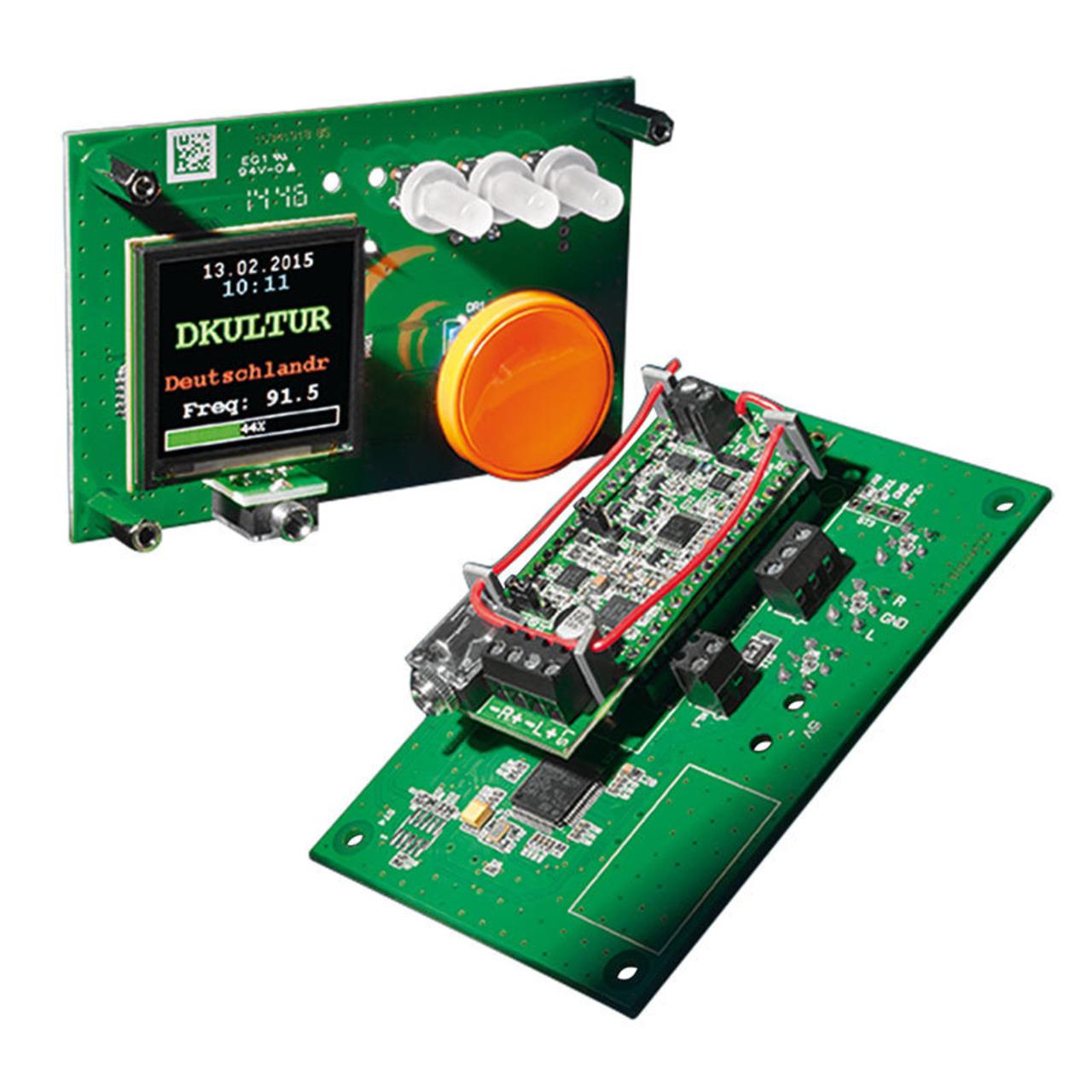 ELV Bausatz Bedien- und Anzeigeeinheit FM-RM1BE- für FM-Receiver Modul FM-RM1