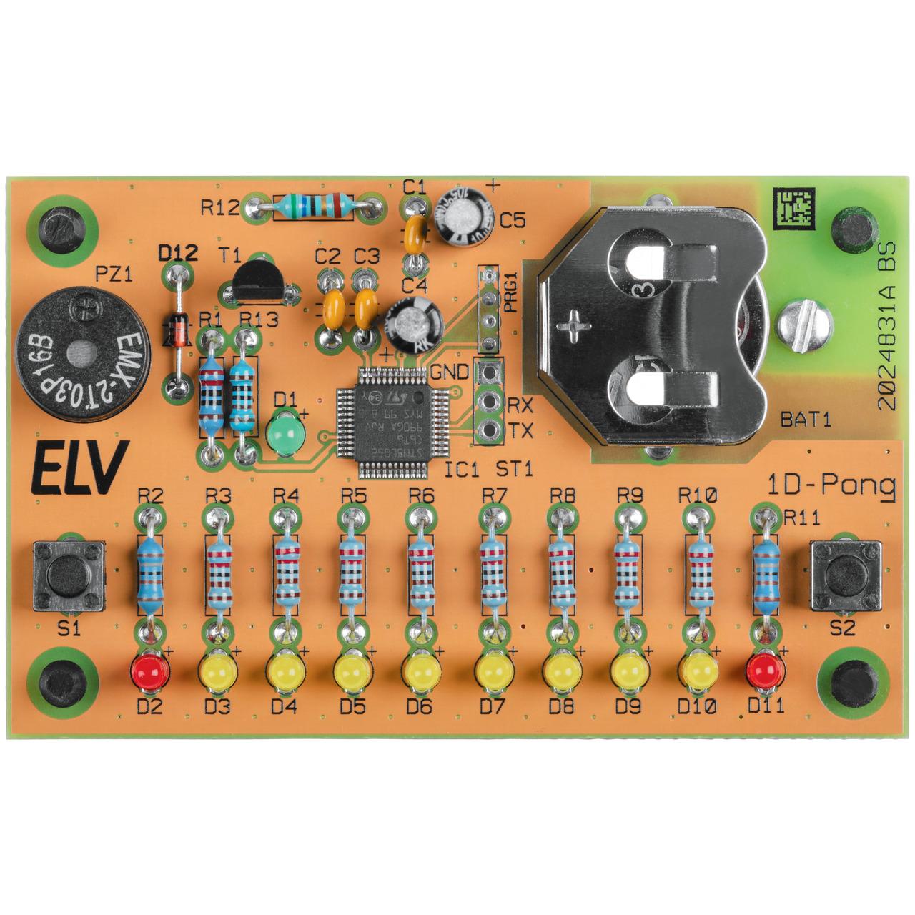 ELV Bausatz Elektronikspiel 1D-Pong