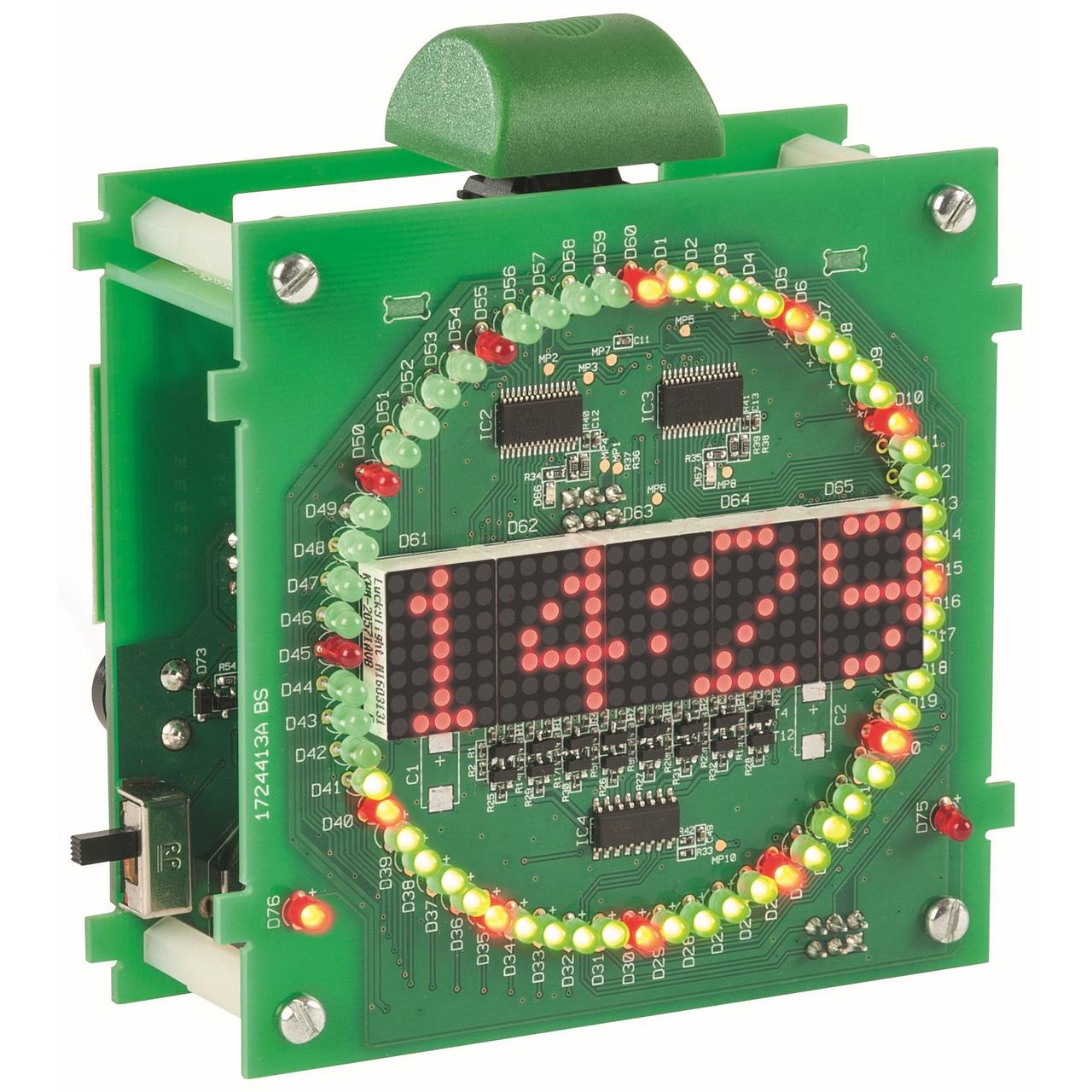 ELV Bausatz Kreis-LED-Wecker KLW1