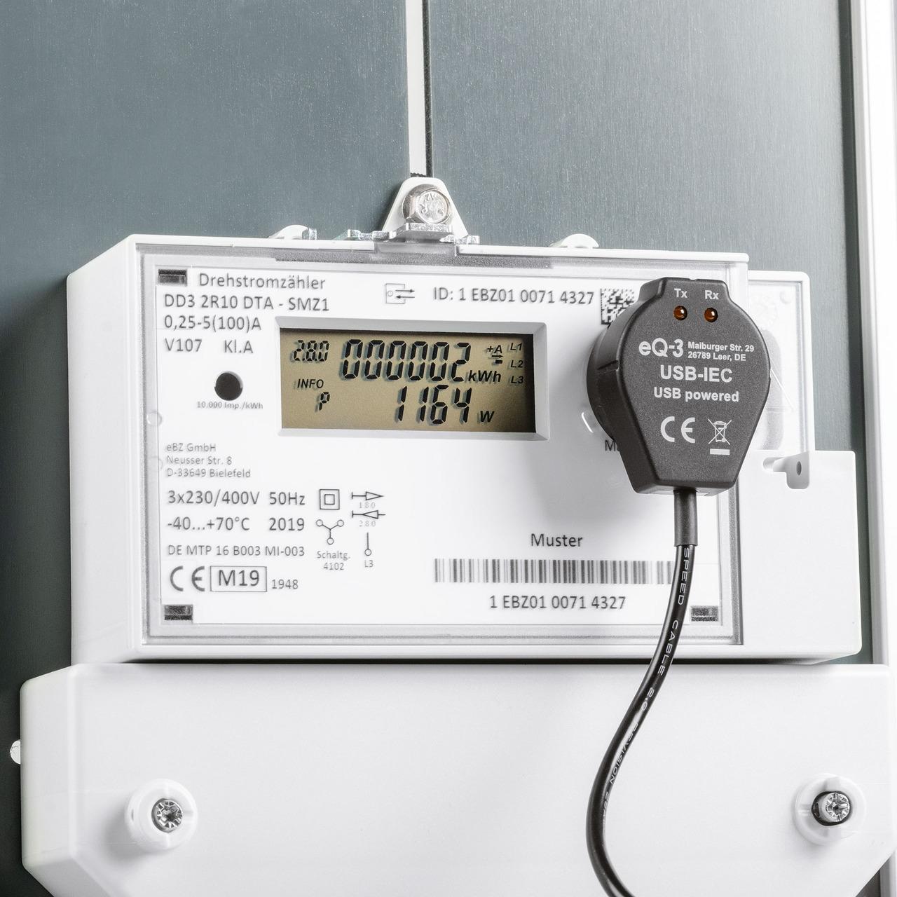ELV Bausatz Lesekopf mit USB-Schnittstelle für digitale Zähler USB-IEC