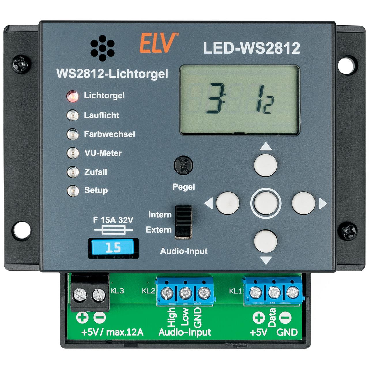 ELV Bausatz Lichtorgel LED-WS2812