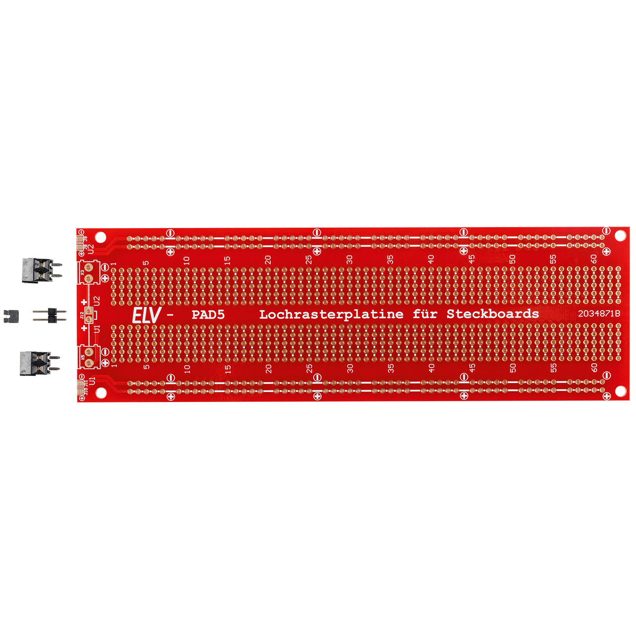ELV Bausatz Lochrasterplatine fund-252 r PAD5 ohne Elektronik PAD5-PCB