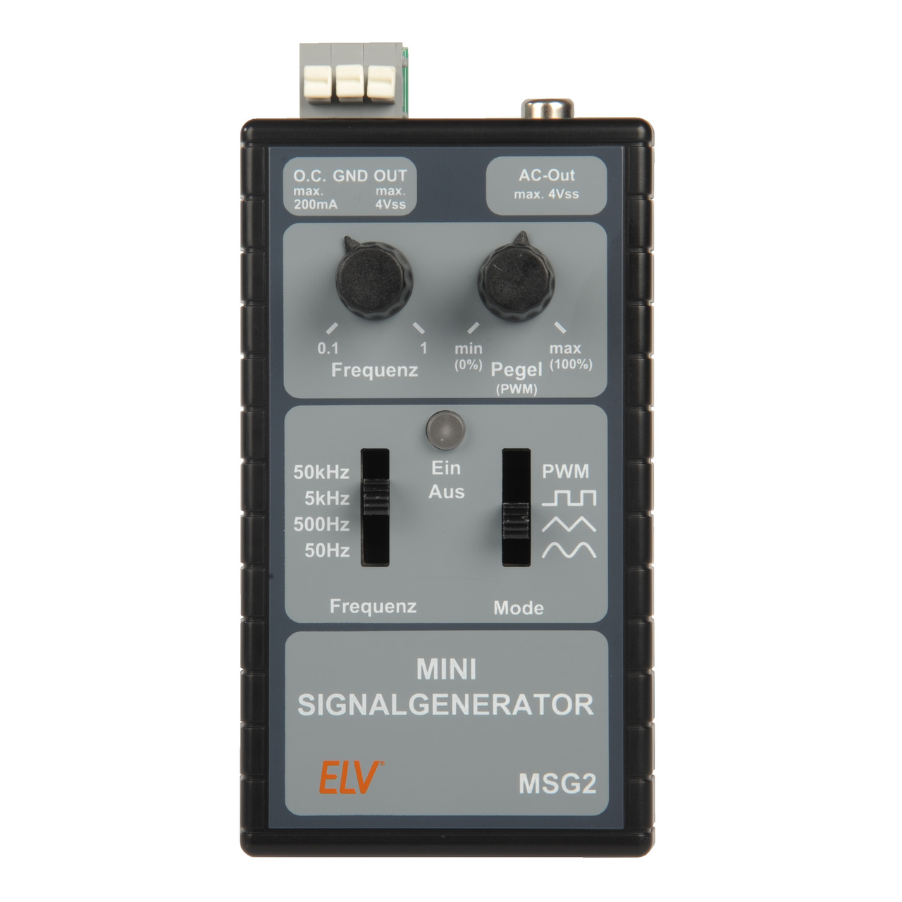 ELV Bausatz Mini-Signalgenerator MSG2