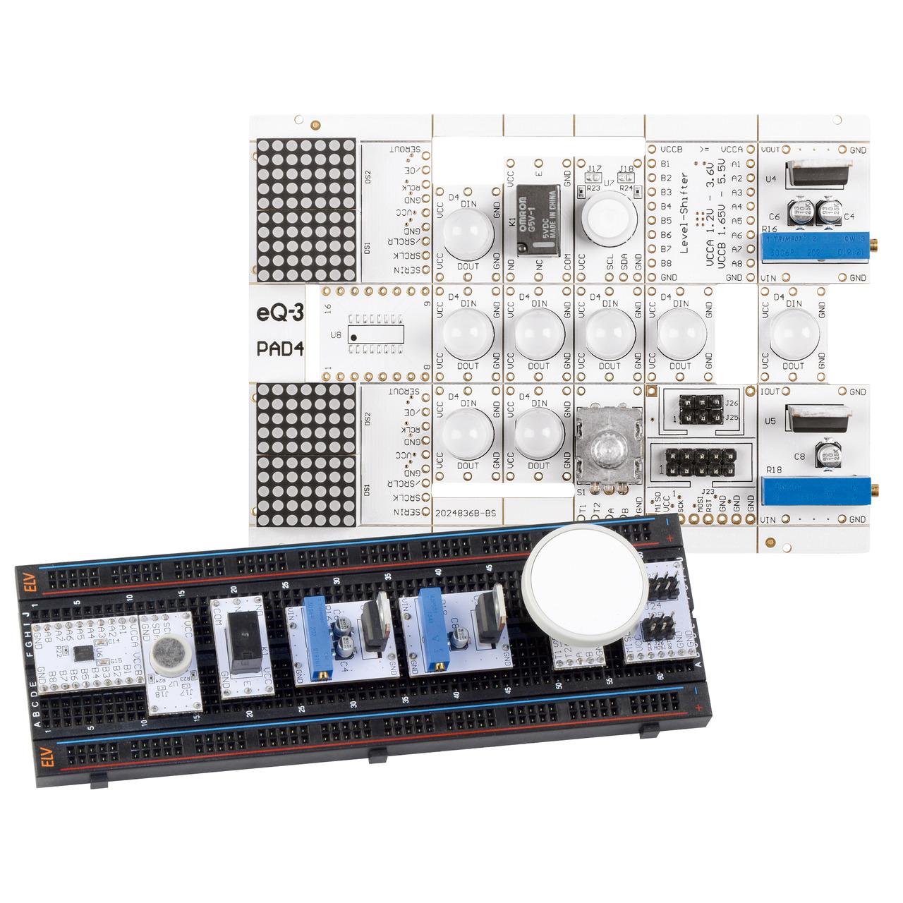 ELV Bausatz Prototypenadapter fund-252 r Steckboards PAD4- digital