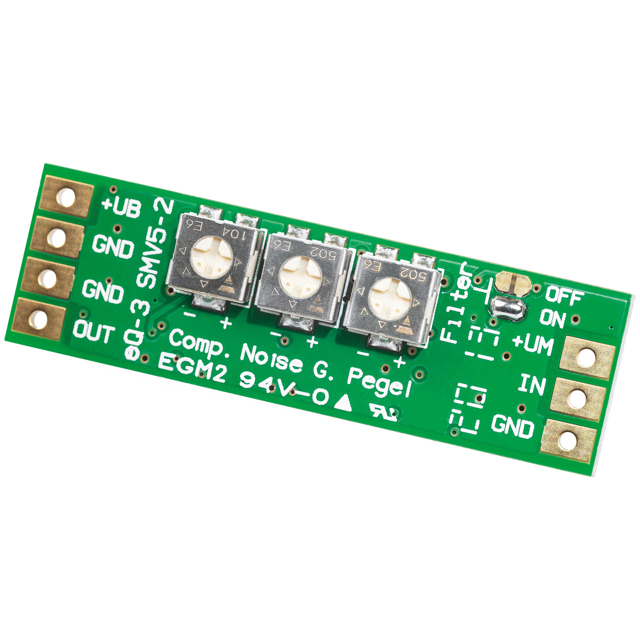 ELV Bausatz SMD-Mikrofonverstärker Version 2 SMV5-2