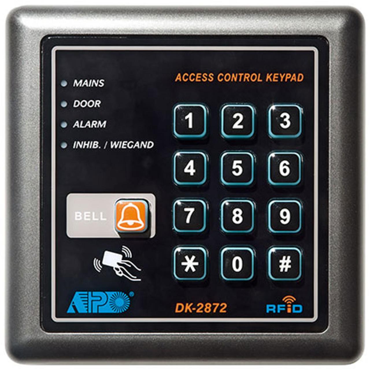 ELV Digitales Codeschloss DK-2872 mit Klingelfunktion und RFID-Card-Reader