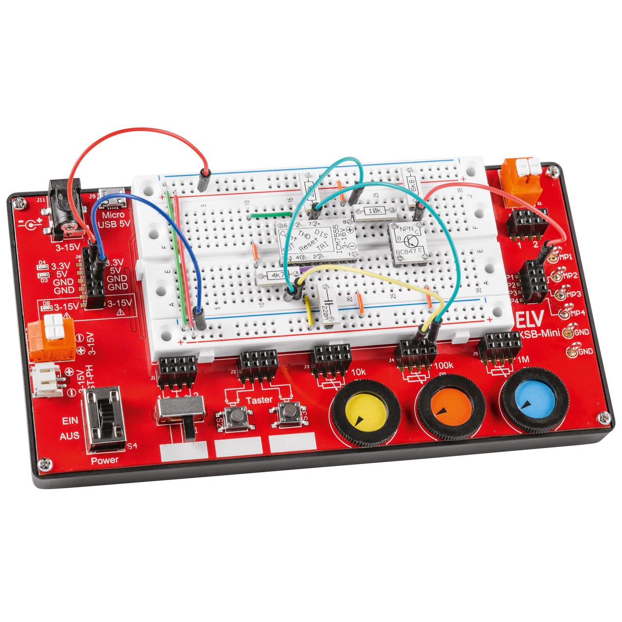 ELV Experimentier-Steckboard EXSB-Mini- Fertiggerät