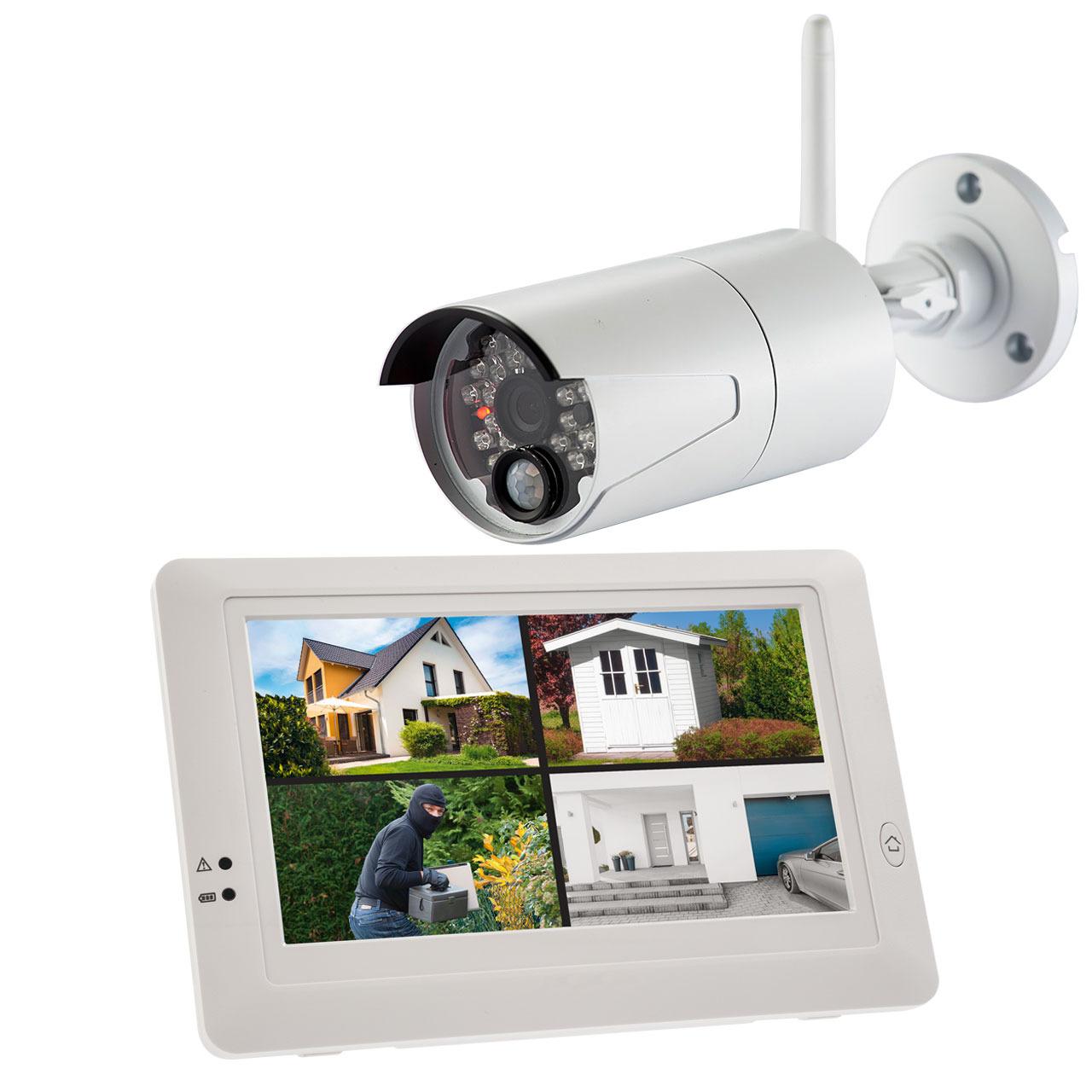 ELV Funk-Kamerasystem KS200 HD- 720p- 2-4 GHz- mit App-Zugriff (iOS und Android)
