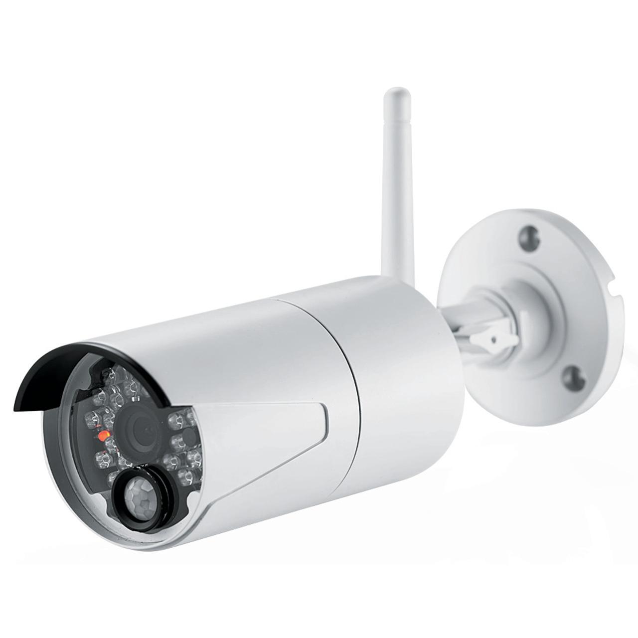 ELV Funk-Zusatzkamera zur Erweiterung der Kamerasysteme KS100 HD - KS200 HD- 2-4 GHz- HD (720p)