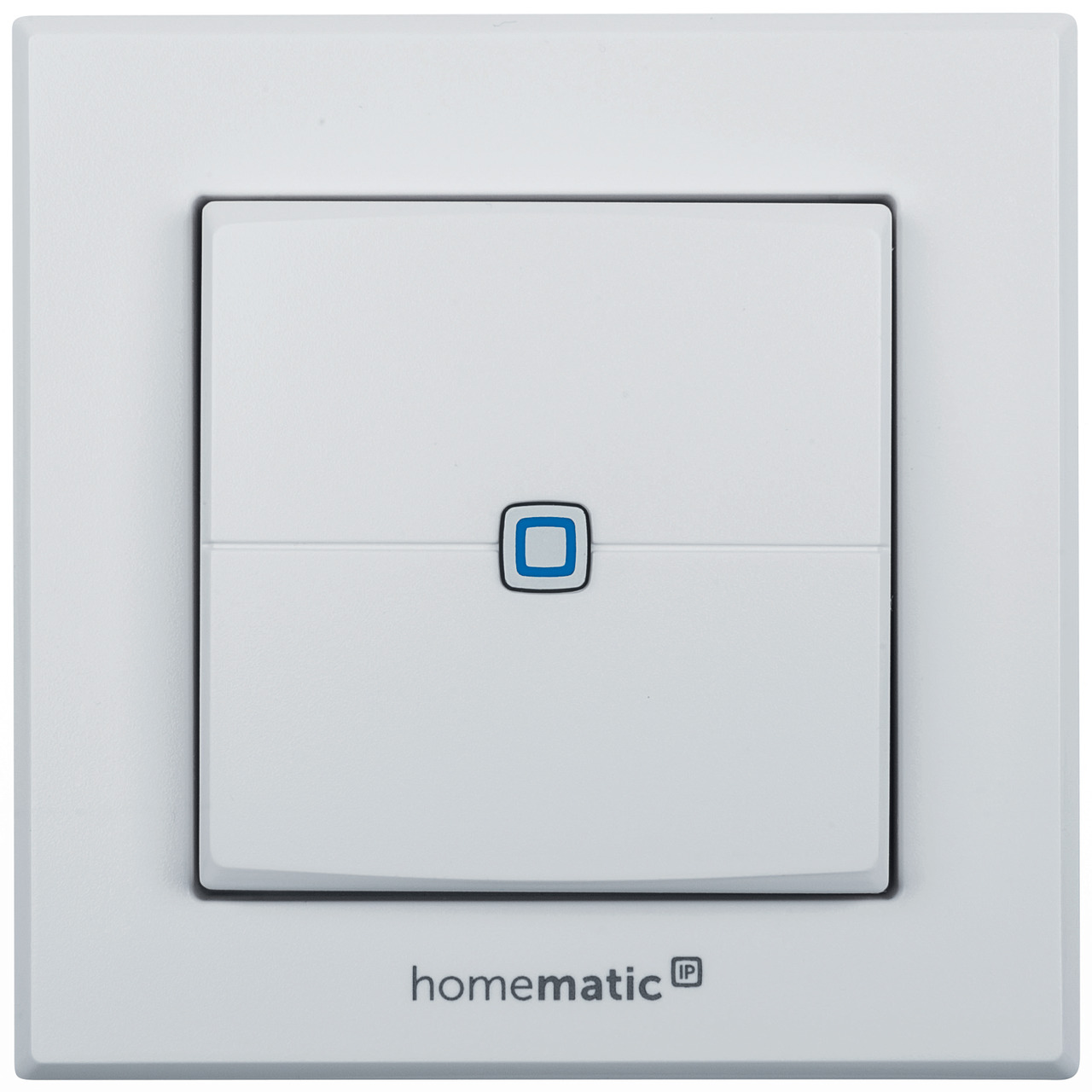 ELV Homematic IP Bausatz Wandtaster HMIP-WRC2- 2-fach für Smart Home - Hausautomation