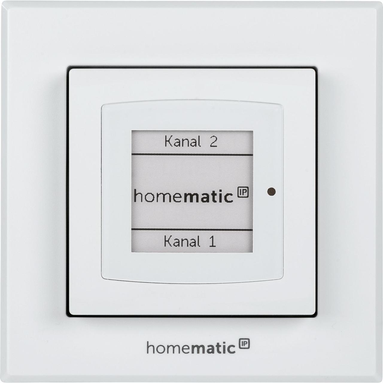 ELV Homematic IP Bausatz Wandtaster mit E-Paper-Statusdisplay HmIP-WRCD