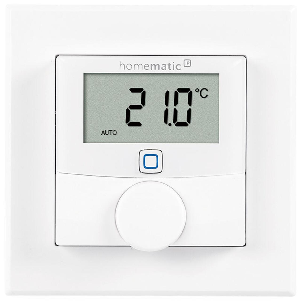 ELV Homematic IP Bausatz Wandthermostat HmIP-WTH-2 mit Luftfeuchtigkeitssensor für Smart Home