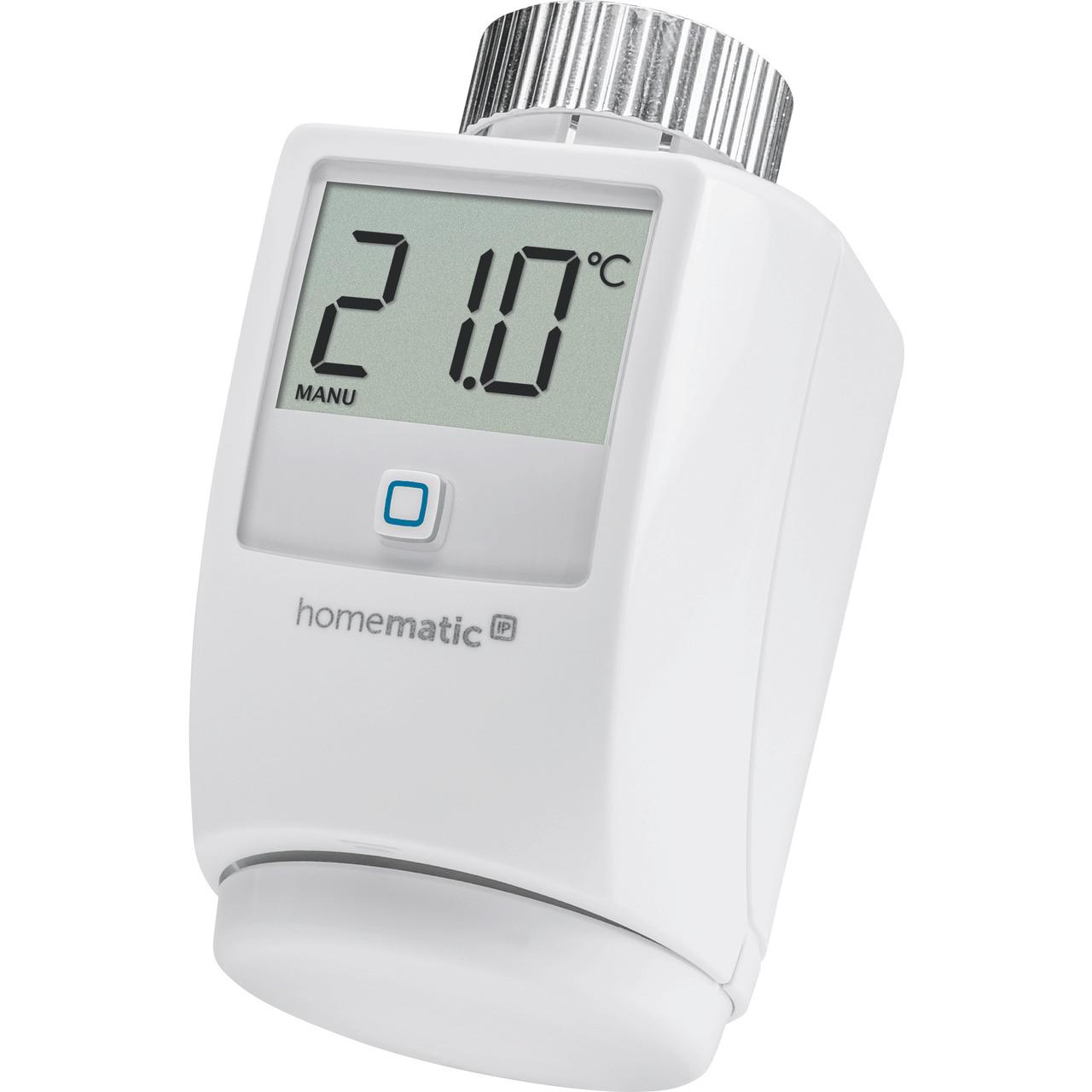 ELV Homematic IP Komplettbausatz Heizkund-246 rperthermostat HMIP-eTRV-2- fund-252 r Smart Home - Hausautomation