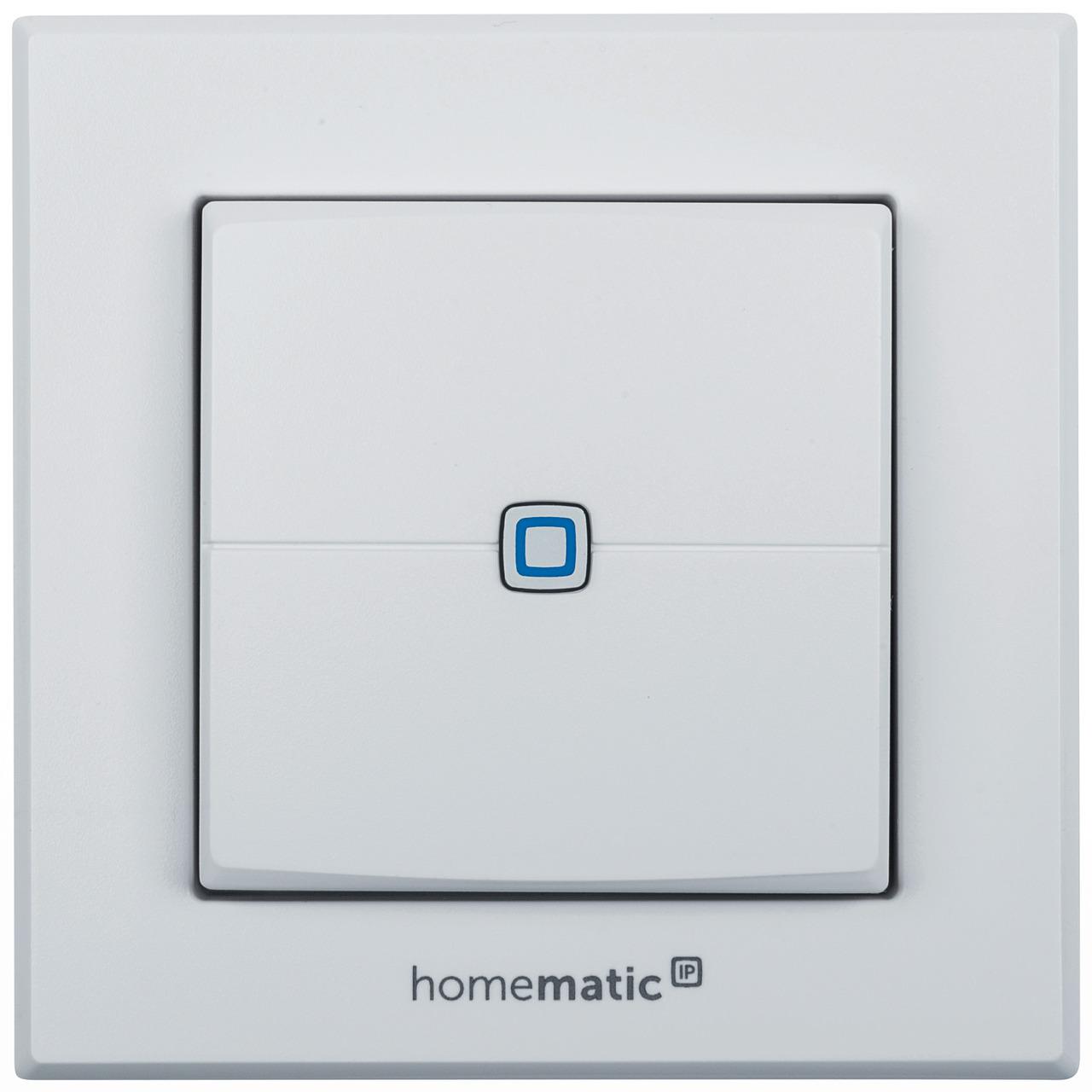 ELV Homematic IP Komplettbausatz Wandtaster HMIP-WRC2- 2-fach fund-252 r Smart Home - Hausautomation