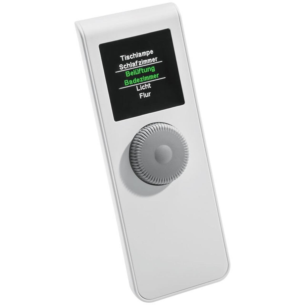 ELV Homematic Komplettbausatz Displayfernbedienung HM-RC-Dis-H-x-EU- für Smart Home - Hausuatomation