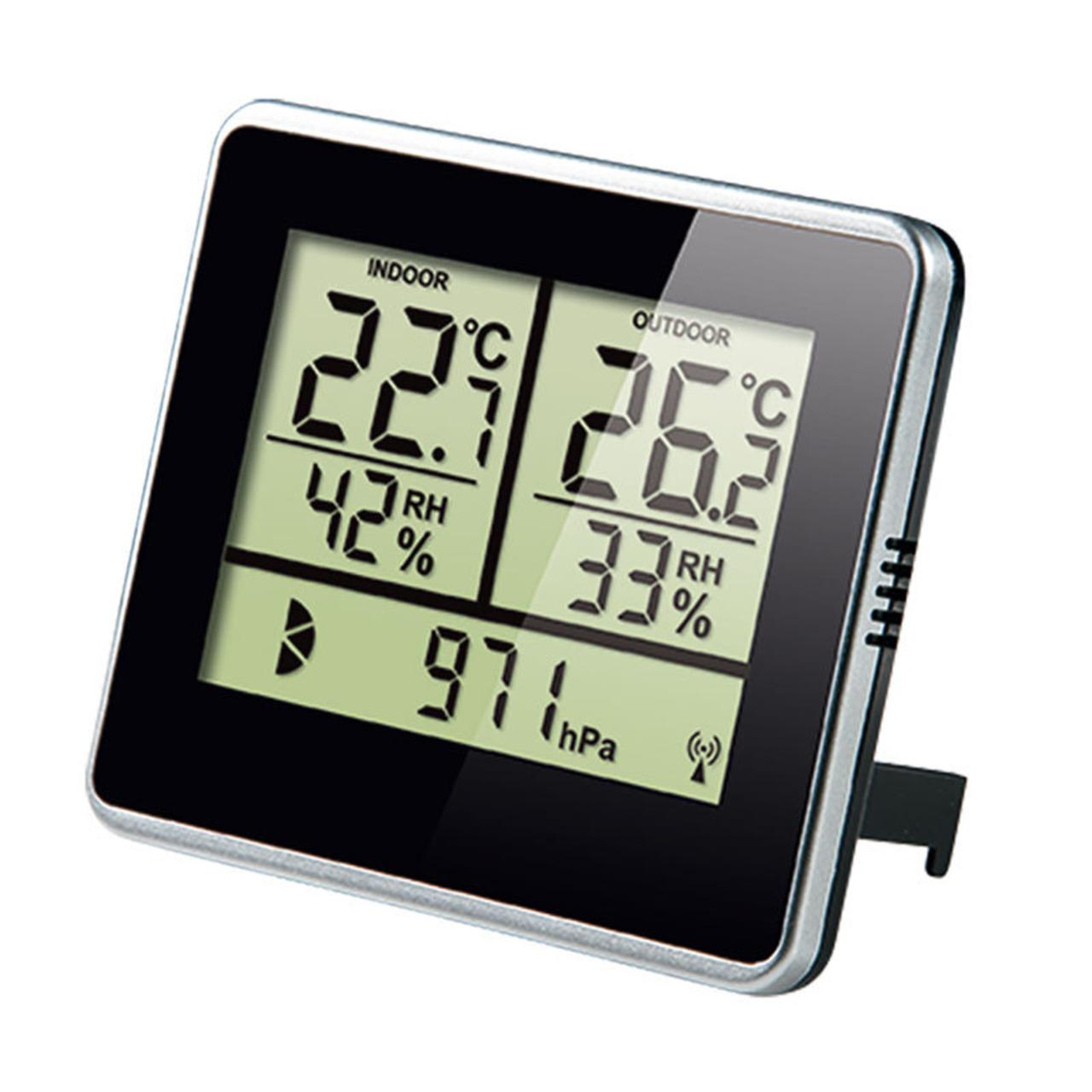 ELV Homematic Komplettbausatz Wetterdaten-Anzeige WA100HM für Smart Home - Hausautomation