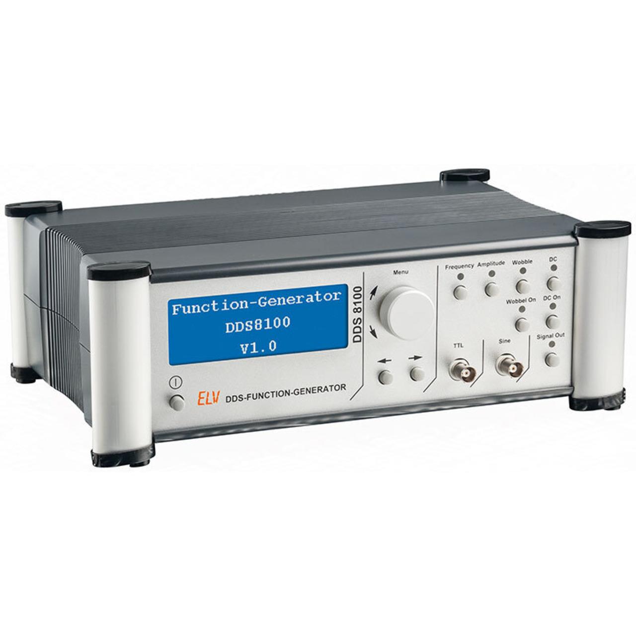 ELV Komplettbausatz 100 MHz-Funktionsgenerator DDS8100