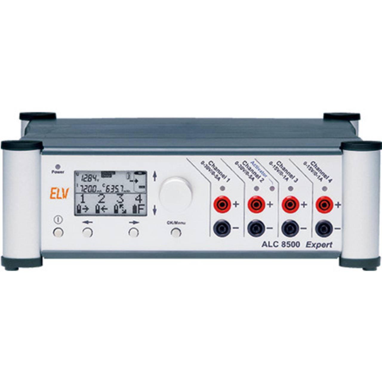 ELV Komplettbausatz Akku-Lade-Center ALC 8500 Expert-2- inkl- PC-Software- USB 2-0 Kabel