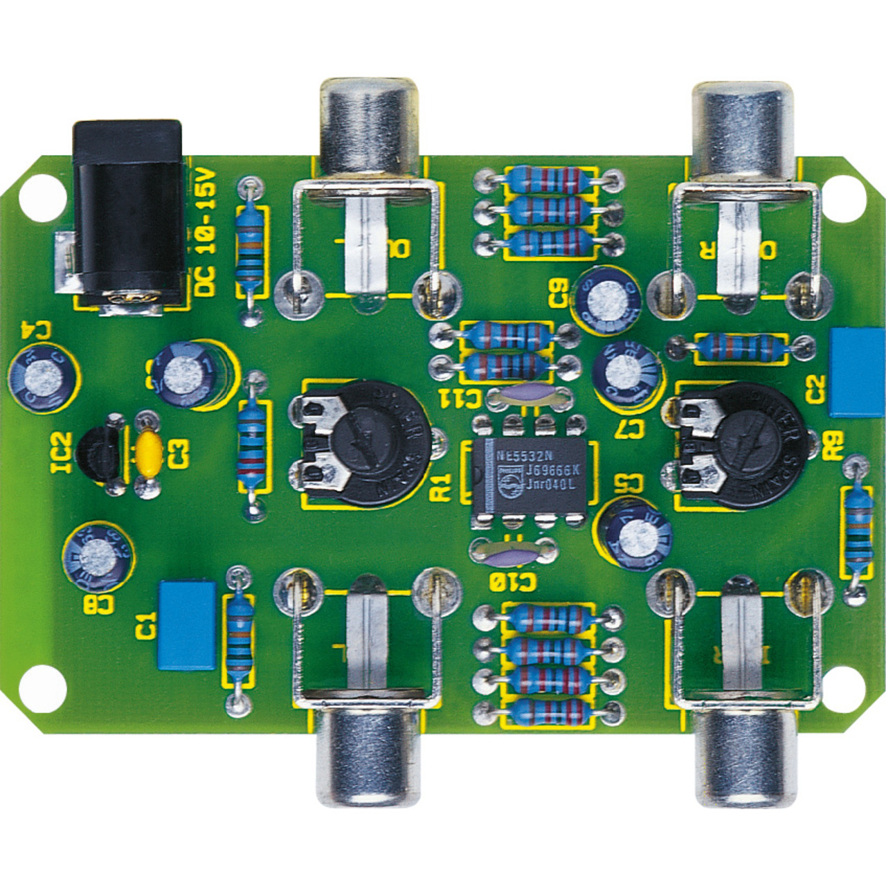 ELV Komplettbausatz Aufhol-Verstärker AHV 100- ohne Gehäuse