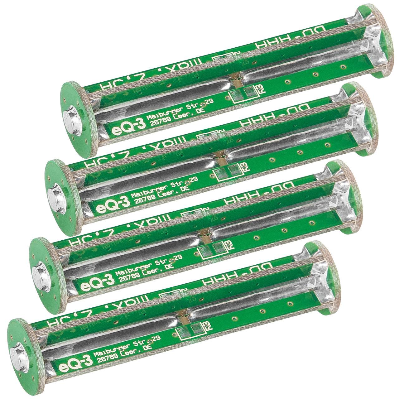 ELV Komplettbausatz Batterie-Dummy-Set BD-AAA- 4x Micro