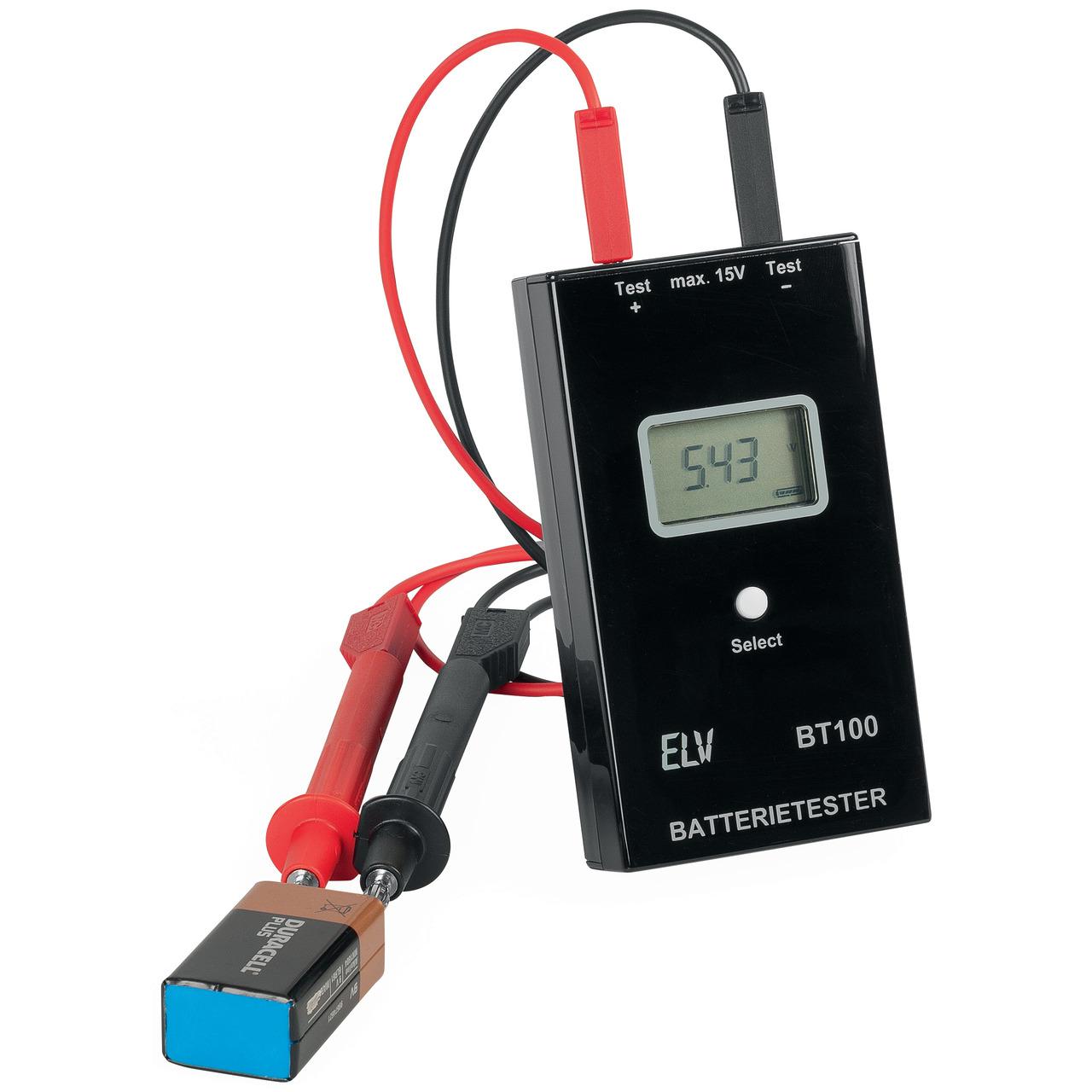 ELV Komplettbausatz Batterietester BT100