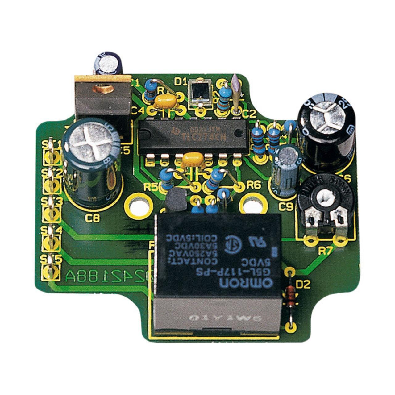 ELV Komplettbausatz Dämmerungsschalter DS 12- 12 V- ohne Gehäuse