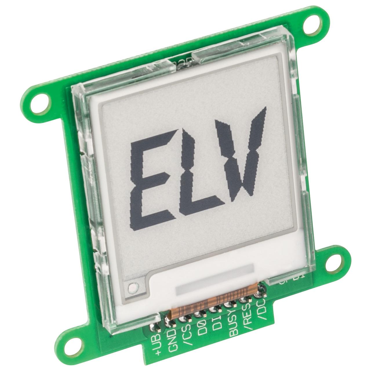 ELV Komplettbausatz E-Paper-Display-Modul EDM100
