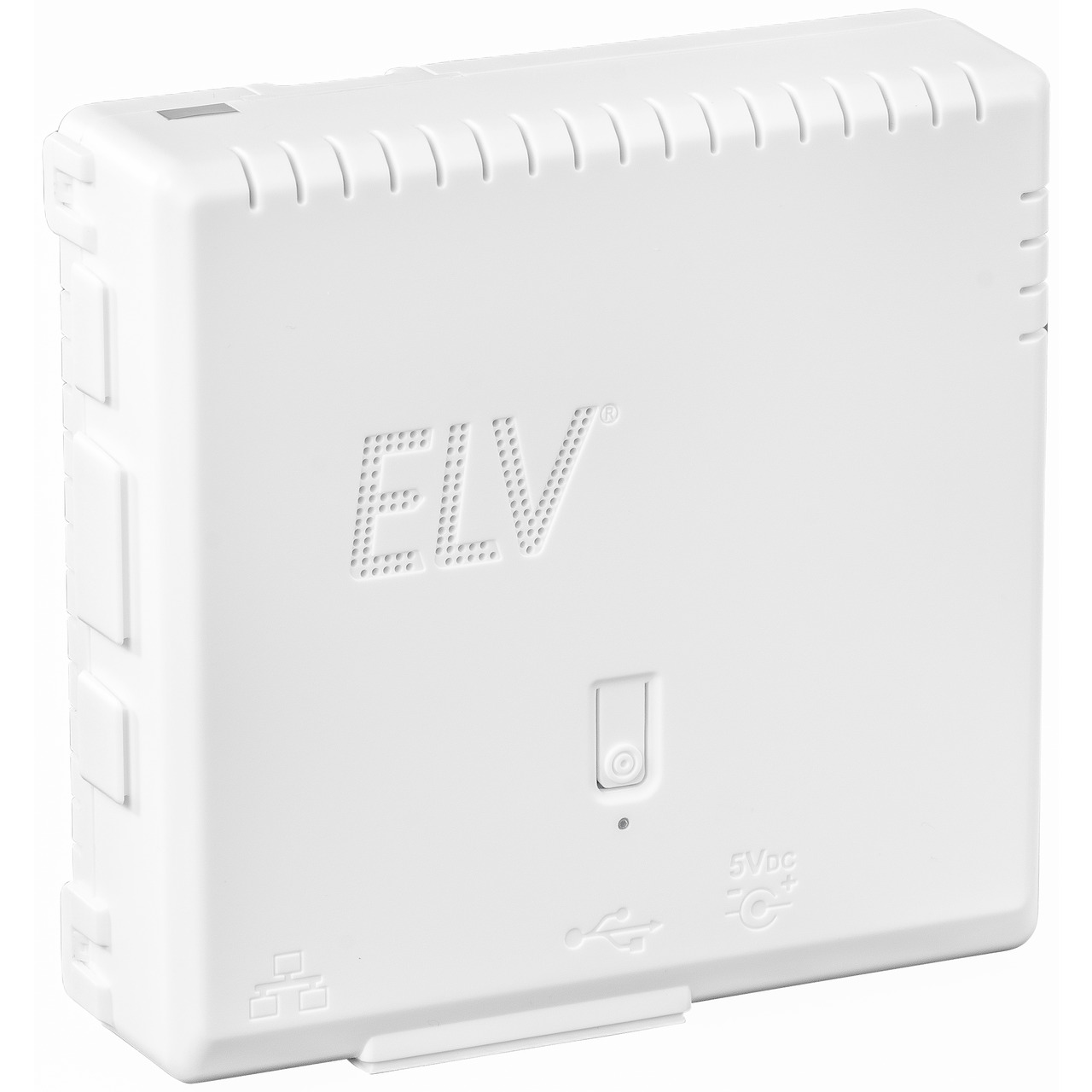 ELV Komplettbausatz Gehäuse RP-Case für Raspberry Pi und RPI-RF-MOD Funk-Modulplatine- weiss