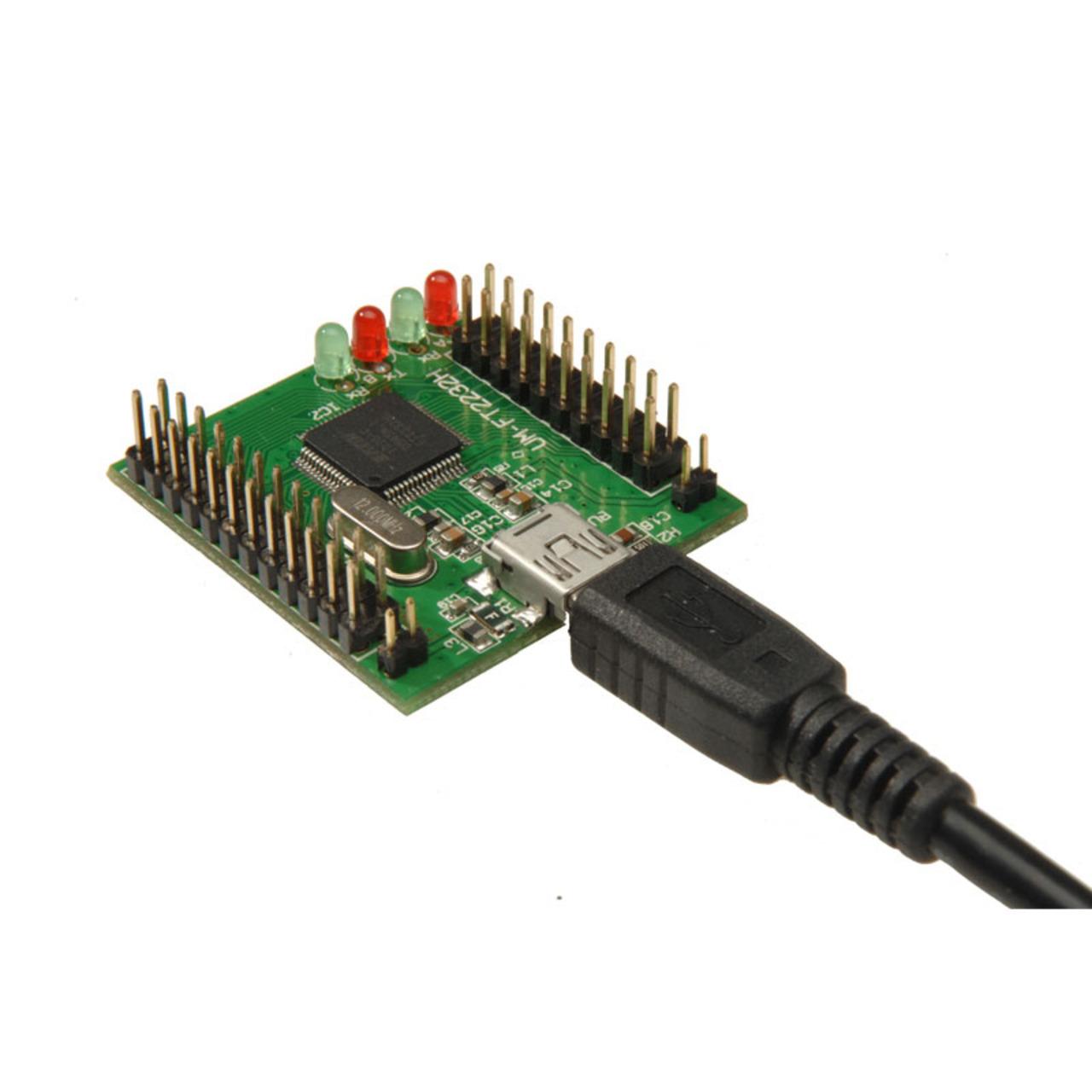 ELV Komplettbausatz Highspeed Mini USB Modul UM-FT2232H