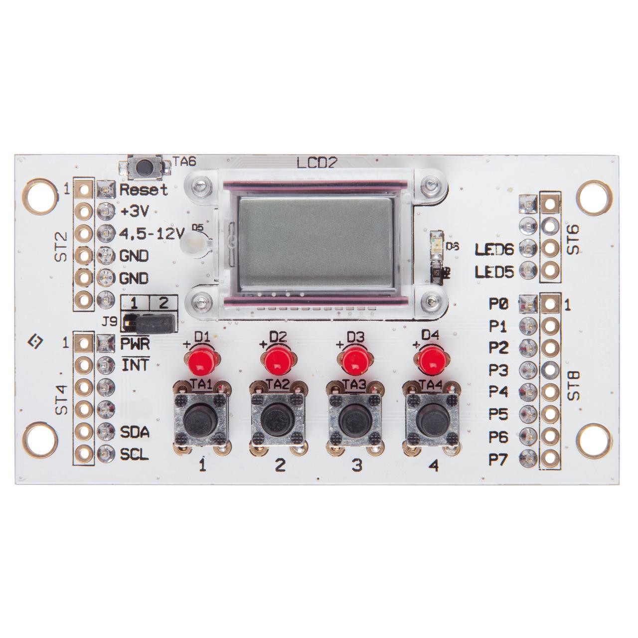 ELV Komplettbausatz I2C-BUS Displaymodul I2C-LCD