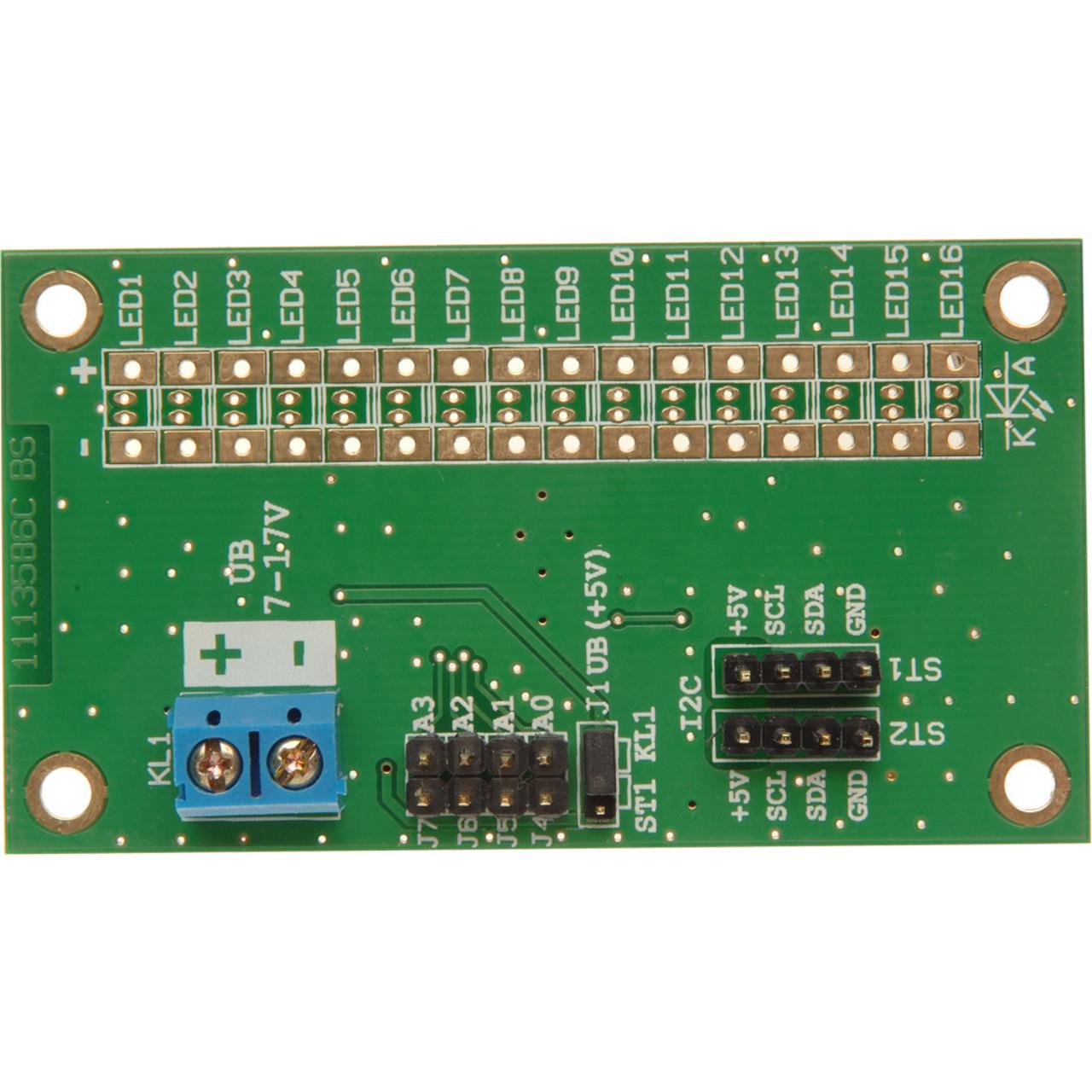 ELV Komplettbausatz LED-I2C-Steuertreiber- 16 Kanäle