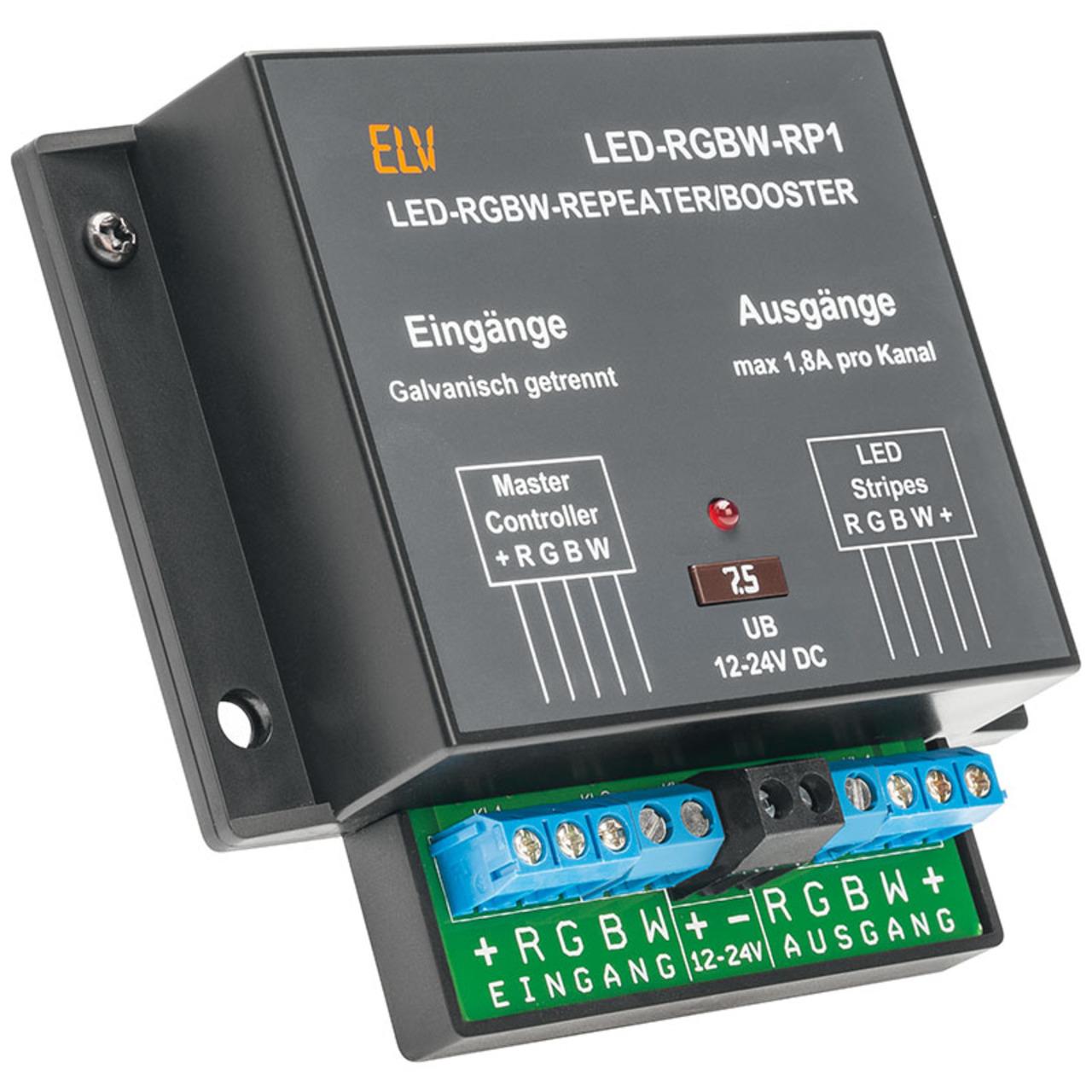ELV Komplettbausatz LED-RGBW-Repeater-Booster