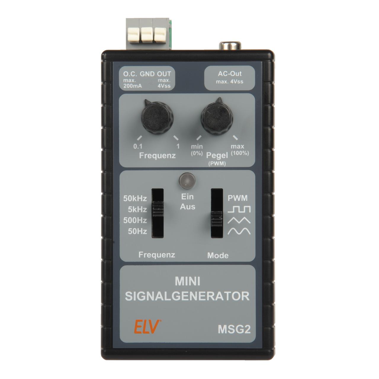 ELV Komplettbausatz Mini-Signalgenerator MSG2