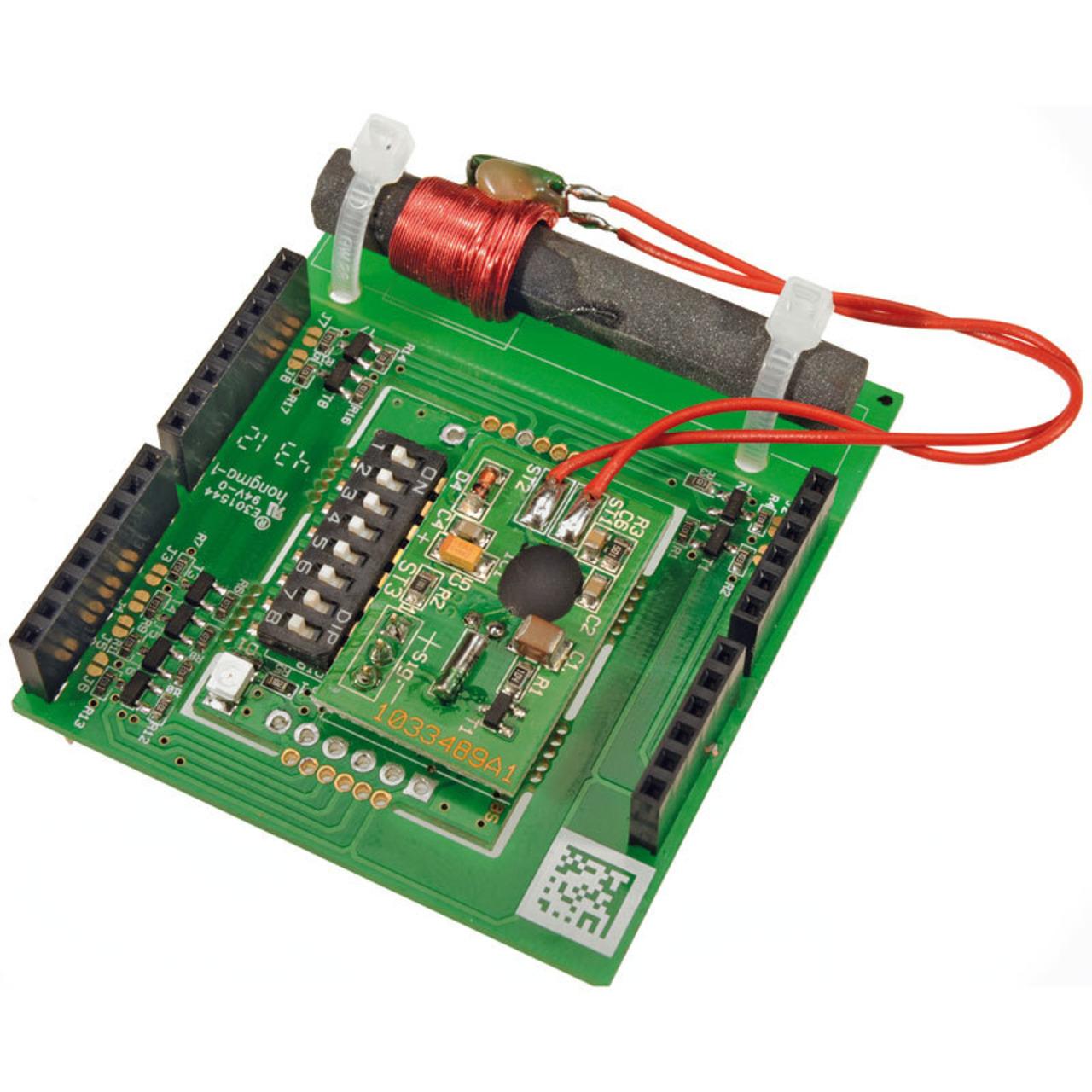 ELV Komplettbausatz Real-Time-Clock-DCF-Modul mit I2C- SPI u- UART-Schnittstelle- RTC-DCF
