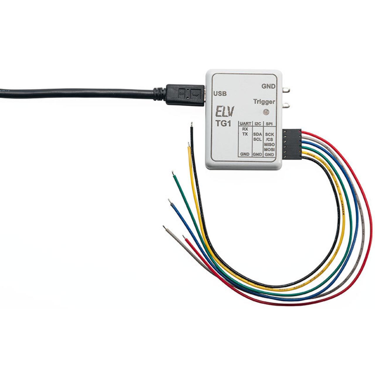 ELV Komplettbausatz Triggergenerator TG1 für SPI-I2C-UART