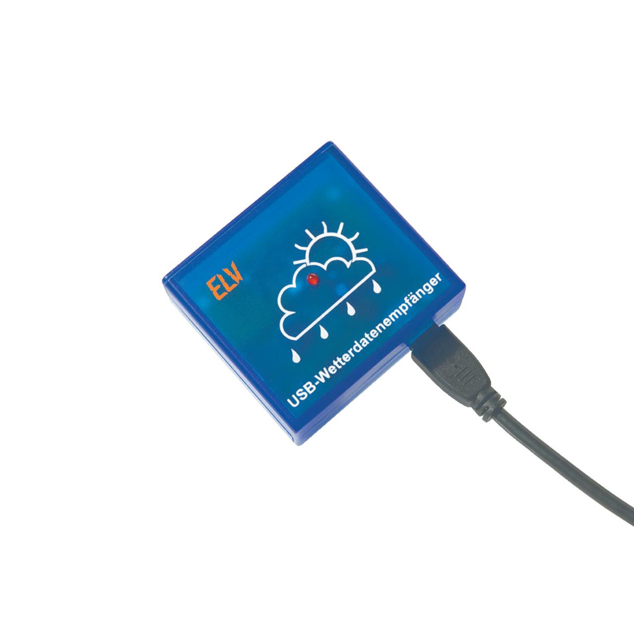 ELV Komplettbausatz USB-Wetterdaten-Empfänger USB-WDE1-2