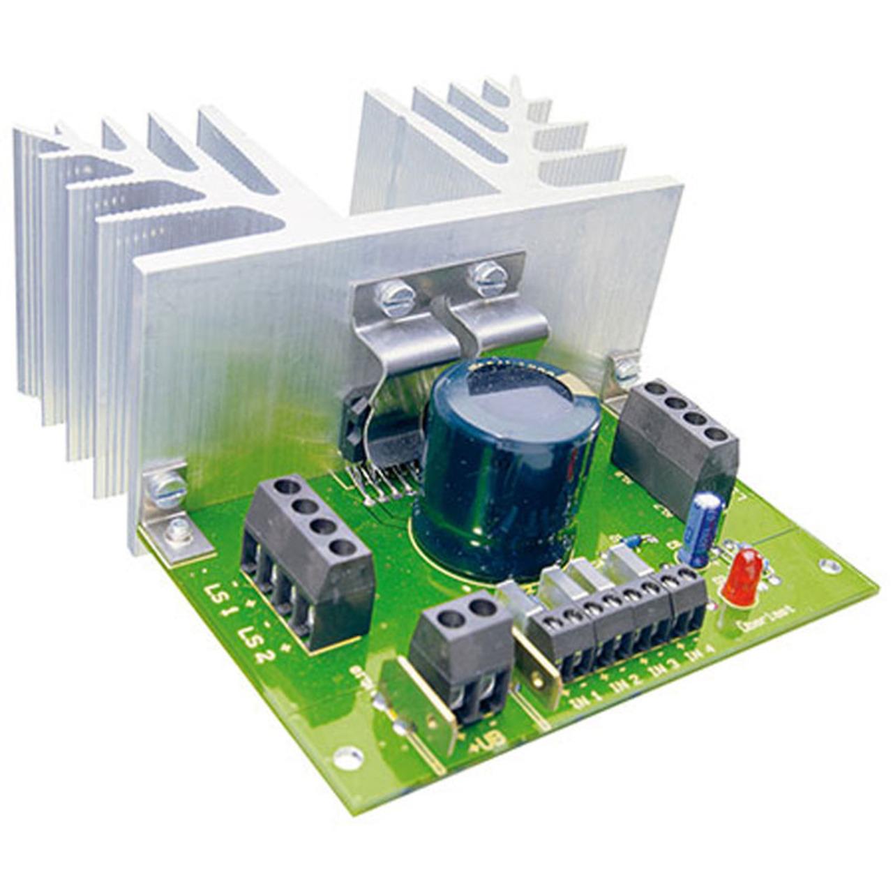 ELV Komplettbausatz Verstärker V 40- 4x40 Watt- ohne Kühlkörper
