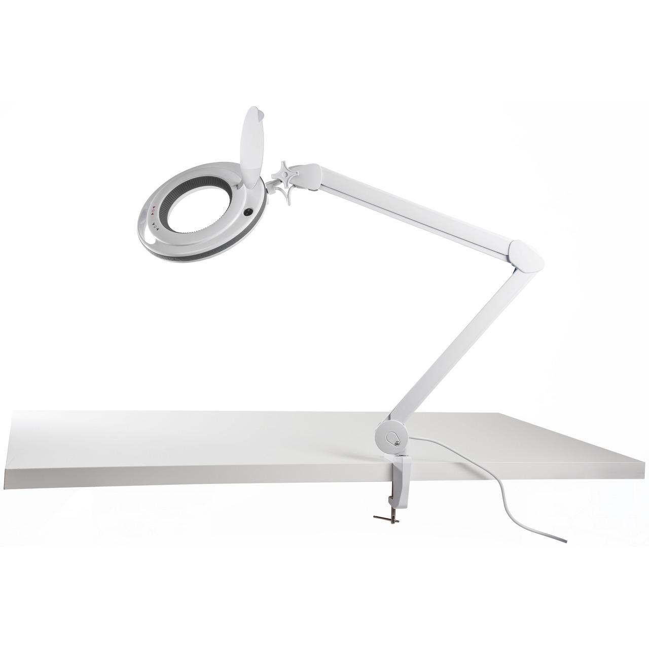 ELV LED-Lupenleuchte- 1-75-fache Vergrösserung- warmweiss-kaltweiss- dimmbar- wechselbare Linse